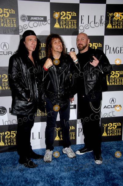 Anvil  Photo - Anvil- Robb Reiner Steve Kudlow and Glenn Five During the 25th Film Independents Spirit Awards Held at the Nokia Event Deck at LA Live on March 5 2010 in Los Angeles Photo Michael Germana - Globe Photos Inc