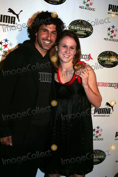 Ethan Zohn Photo - The First Annual Grassroot Soccer Gala and Auction to Benefit the Fight Against Aids in Africa Is Held at Marqee Tenth Avenue 10-02-2008 Photos by Rick Mackler Rangefinder-Globe Photos Inc2008 Ethan Zohn with 2008 Olmpic Gold Medalist Heather Oreilly