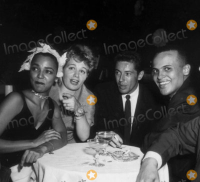 Dorothy Dandridge Photo - Dorothy Dandridgeshelley Wintersfarley Grangerharry Belafonte Photo Nate CutlerGlobe Photos Inc