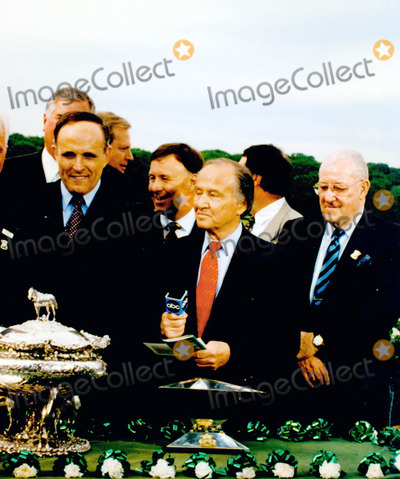Jim McKay Photo - Rudy Giuliani and Jim Mckay Photo Bywilliam Regan-Globe Photos Inc