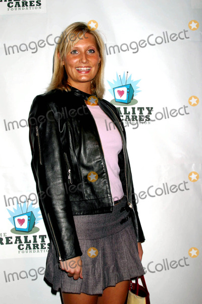 Angie Banicki Photo - Reality Cares Foundation Benefit Hosted by Battlefield Fashions and Clicquot Champagne Pearl West Hollywood California - Red Carpet 02202004 Photo by Clinton HwallaceipolGlobe Photos Inc 2004 Angie Banicki