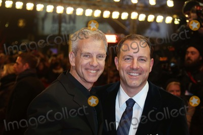 Chris Sanders Photo - Directors Chris Sanders (L) and Kirk De Micco Arrive at the Premiere of the Croods During the 63rd Annual Berlin International Film Festival Aka Berlinale at Berlinalepalast in Berlin Germany on 15 February 2013 Photo Alec Michael