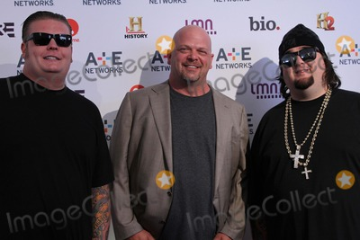 Austin Chumlee Russell Photo - Ae Networks Upfront the Tent at Lincoln Center NYC May 9 2012 Photos by Sonia Moskowitz Globe Photos Inc 2012 Corey Harrison Rick Harrison Austin Chumlee Russell