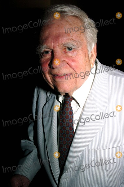 Andy Rooney Photo - George Langs Surprise 80th Birthday Party at Cafe Des Artistes in New York City 06152004 Photo by John KrondesGlobe Photos Inc 2004 Andy Rooney