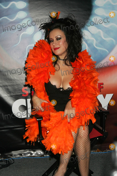 Chucky Photo - Jennifer Tilly Rides Seed of Chucky Float at the 31st Annual Village Halloween Parade Up 6th Avenue in New York City 10312004 Photo by Rick MacklerrangefindersGlobe Photos