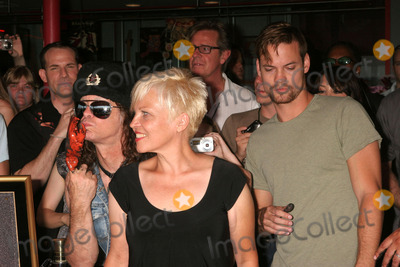 The Germs Photo - the Germs Inducted Into Hollywoods Rockwalk 7425 Sunset Blvd Hollywood CA 082008 the Germs - L-r - Don Bolles and Lorna Doom with Shane West Photo Clinton H Wallace-photomundo-Globe Photos Inc