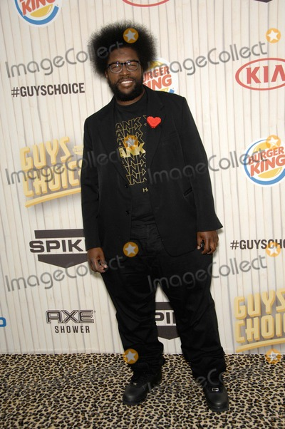 Ahmir Questlove Thompson Photo - Ahmir Questlove Thompson During Spike Tvs Guys Choice 2013 Held at Sony Picture Studios on June 8 2013 in Culver City California Photo Michael Germana  Superstar Images - Globe Photos