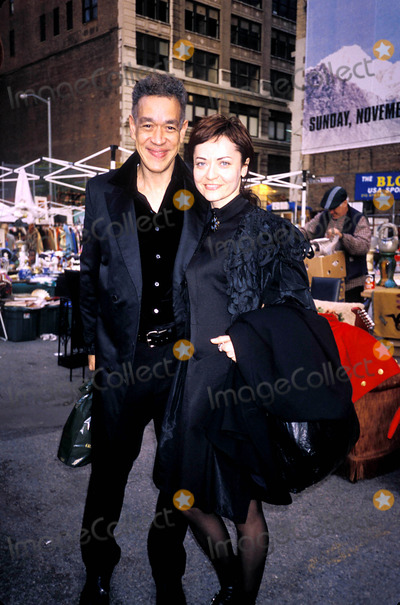 Andres Serrano Photo - Andres Serrano (Artist) in New York City Photo Byrose HartmanGlobe Photos Inc
