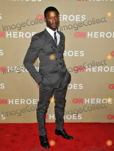 Aldis Hodge Photo - Aldis Hodge attending the Cnn Heroes All Star Tribute Held at the Shrine Auditorium in Los Angeles California on December 2 2012 Photo by D Long- Globe Photos Inc