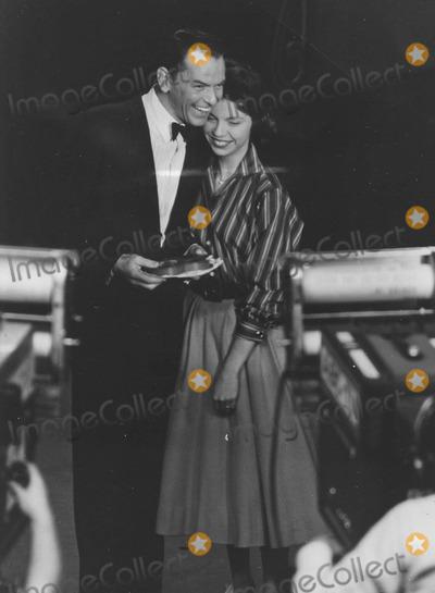 Nancy Sinatra Photo - Nancy Sinatra with Father Frank Sinatra at Frank Sinatra showsupplied by Globe Photos Inc
