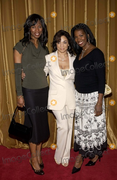 Tyra Ferrell Photo - 36TH ANNUAL NAACP IMAGE AWARDS NOMINEE LUNCHEON SPONSORED BY HARLEY DAVIDSON AND DAIMLERCHRYSLER AT THE BEVERLY HILTON HOTEL ON MARCH 5 2005 HOSTED BY DUANE MARTIN 7 WIFE TISHA CAMPBELL- MARTINJASMINE GUY  TYRA FERRELL (RIGHT)PHOTO BY VALERIE GOODLOE-GLOBE PHOTOS INC  2005K42054VG