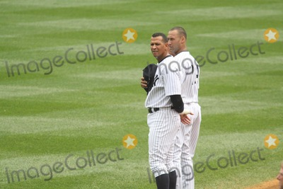 Alex Rodriguez Photo - Alex Rodriguezderek Jeter at NY Yankees Vs Baltimore Orioles Game at Yankee Stadium 9-5-2011 Photo by John BarrettGlobe Photos Inc