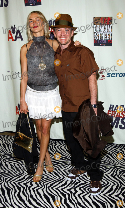 Andrea Elmer Photo - 10th Annual Race to Erase MS Co-chaired by Nancy Davis  Tommy Hilfiger at the Century Plaza Hotel  Spa Century City CA 0592003 Photo by Fitzroy BarrettGlobe Photos Inc 2003 David Faustino and Andrea Elmer