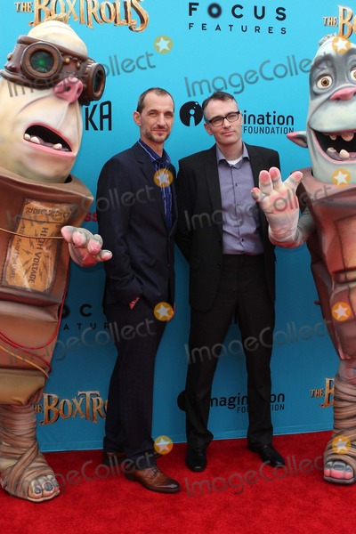 Anthony Stacchi Photo - Anthony Stacchi Graham Annable Attend Los Angeles Premiere of the Boxtrolls on September 21st 2014 at Universal Citywalk - Universal Citycaliforniausaphototleopold Globephotos