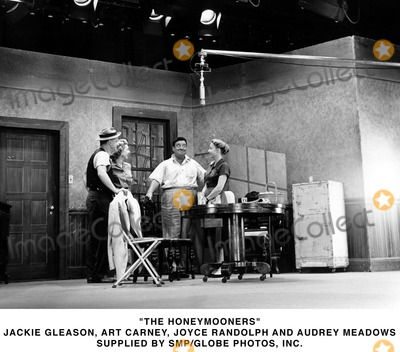Audrey Meadows Photo - The Honeymooners Jackie Gleasonart Carneyjoyce Randolh and Audrey Meadows Supplied by SmpGlobe Photoosinc