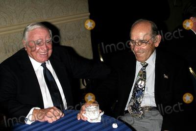 Yogi Berra Photo - Ernest Borgnine and Yogi Berra K36761jbb Italian American Foundation Jazz Fest Kickoff Grand Hyatt  New York City 04202004 Photo John BarrettGlobe Photosinc