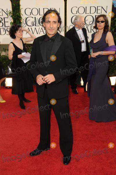 Alexandre Desplat Photo - Alexandre Desplat 68th Annual Golden Globe Awards (Arrivals) Held at the Beverly Hilton Hotel Los Angeles CA January 16 - 2011 photo Dlong Globephotos