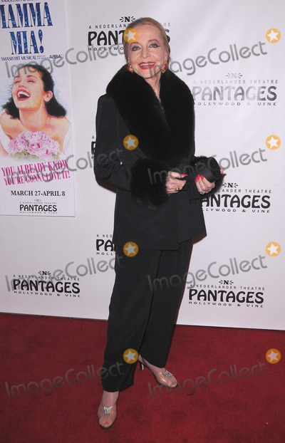 Anne Jeffreys Photo - Opening Night of Mamma Mia at the Pantages Theatre in Hollywood CA 32712 Photo by Scott Kirkland-Globe Photos copyright 2012 Anne Jeffreys