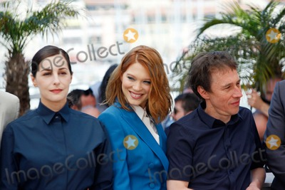 Amira Casar Photo - Amira Casar Lea Seydoux and Bertrand Bonello Saint-laurent Photo Call Cannes Film Festival 2014 Cannes France May 17 2014 Roger Harvey