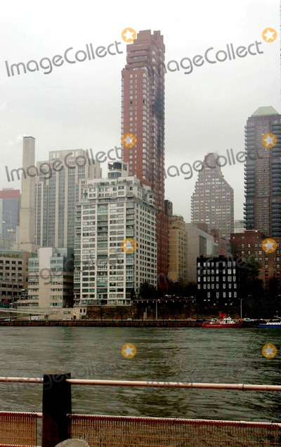 Cory Lidle Photo - the Belaire Building-aftermath of the Plane Crash Cory Lidles Plane Crashed Into the Building New York NY 10112006 Photo Ken Babolscay - Ipol - Globe Photos Inc
