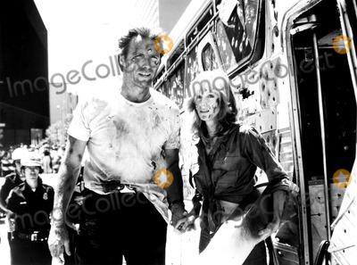 Sondra Locke Photo - Clint Eastwood and Sondra Locke in the Gauntlet 1977 Supplied by AdGlobe Photos Inc Clinteastwoodretro Movie Still