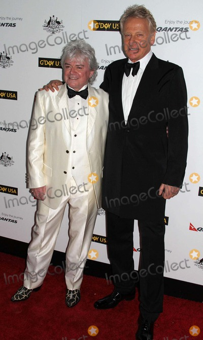 Air Supply Photo - the 9th Annual Gday USA Los Angeles Black Tie Gala the Grand Ballroomhollywood  Highland Centre Hollywood CA 01142012 Russell Hitchcock and Graham Russell of Air Supply Photo Clinton H Wallace-photomundo-Globe Photos Inc