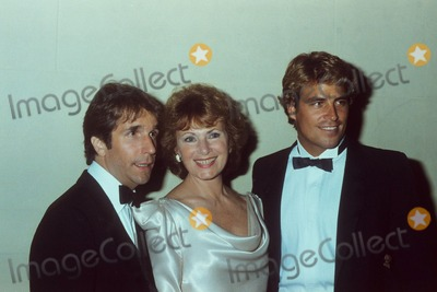 Alan Hunter Photo - Marion Ross with Henry Winkler and Ted Mcginley Photo by Alan Hunter-Globe Photos Inc