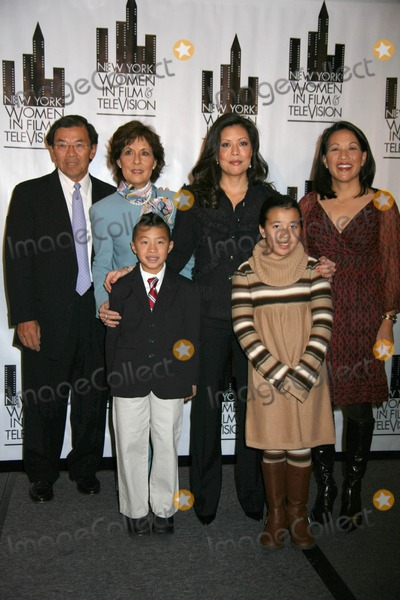 Andrea Wong Photo - New York Women in Film and Television Presents the 29th Annual Muse Awards New York Hilton in New York City 12-09-2009 Photos by Sonia Moskowitz Globe Photos Inc 2009 Andrea Wong and Family