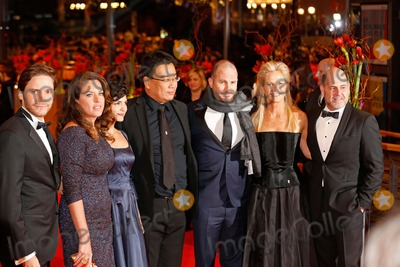 Audrey Tautou Photo - L-r Daniel Bruhl Claudia Llosa Audrey Tautou Bong Joon-ho Darren Aronofsky Martha De Laurentiis Matthew Weiner Opening Night and Nobody Wants the Night Premiere Berlin International Film Festival Berlin Germany February 05 2015 Roger Harvey
