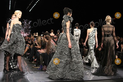 Naeem Khan Photo - Naeem Khan Fashion Show Mercedes Benz Fashion Week Lincoln Center NYC February 14 2012 Photos by Sonia Moskowitz Globe Photos Inc