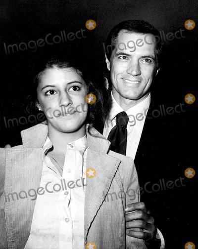 John Gavin Photo - John Gavin with His Daughter Cristina Gavin Photo by Nate Cutler-Globe Photos Inc