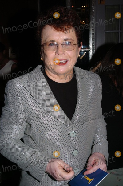 Billy Jean King Photo - International Tennis Hall of Fame Hosts Newport in New York Golden Gala in New York City 09102004 Photo by John KrondesGlobe Photos 2004 Billy Jean King