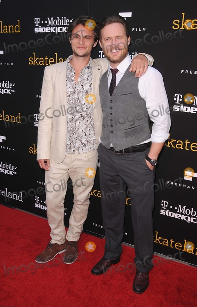 AJ Buckley Photo - Los Angeles Premiere of Skateland at Arclight Hollywood in Hollywood CA 2011  51111  photo by Scott kirkland-globe Photos  2011aj Buckley and Shiloh Fernandez