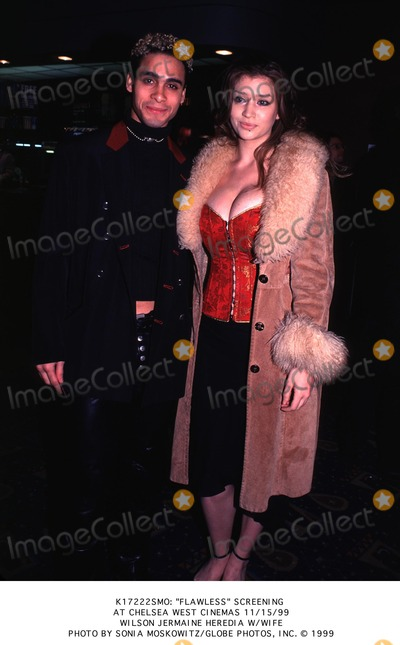 Wilson Jermaine Heredia Photo -  Flawless Screening Chelsea West Cinemas in NYC 111599 Wilson Jermaine Herdia and Wife Photo by Sonia MoskowitzGlobe Photos Inc