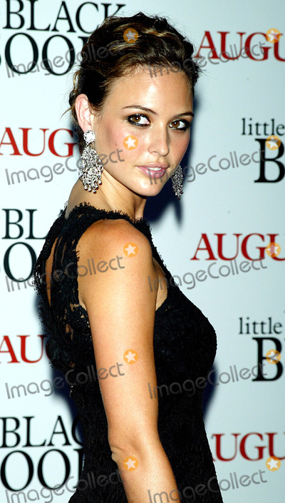 JOSIE MORAN Photo - the Premiere of Little Black Book at the Ziegfeld Theatre in New York City on 7212004 Photo ByGlobe Photos Inc 2004 Josie Moran