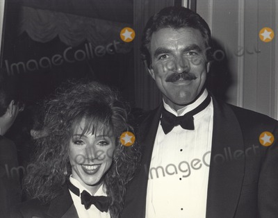 Jillie Mack Photo - Tom Selleck with His Wife Jilly Mack at Golden Globe Awards Photo by Cp-Globe Photos Inc