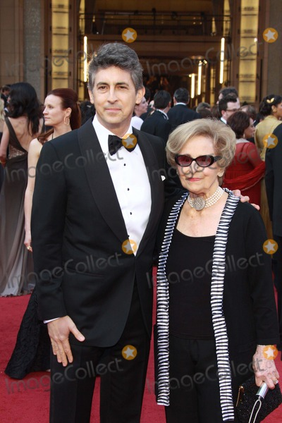 Alexander Payne Photo - Director Alexander Payne and His Mother Peggy Payne Attend the 84th Annual Academy Awards Aka Oscars at Kodak Theatre in Los Angeles USA Am 26 Februar 2012 Photo Alec Michael-Globe Photos Inc