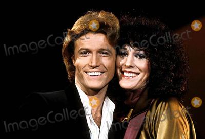Andy Gibb Photo - Andy Gibb and Rita Coolidge Photomca  Globe Photos Inc