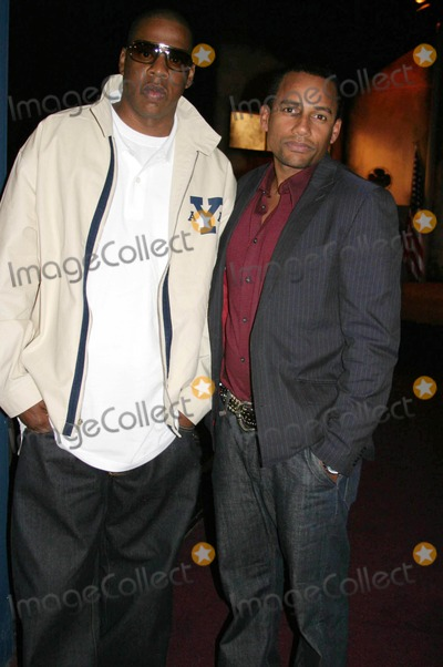Andre Harrell Photo - Medal of Honor Rag Vip Reception For Heavy D Hosted by Jay Z  Andre Harrell Egyptian Arena Theatre Hollywood CA 06-27-2005 Photo ClintonhwallacephotomundoGlobe Photos Inc Jay Z and Hill Harper
