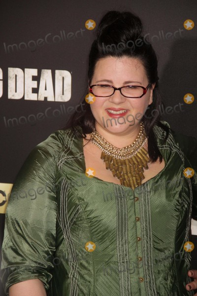 Ann Mahoney Photo - Ann Mahoney at Amc Season Six Debut of the Walking Dead at Fan Premiere Event at Madison Square Garden 10-9-2015 John BarrettGlobe Photos