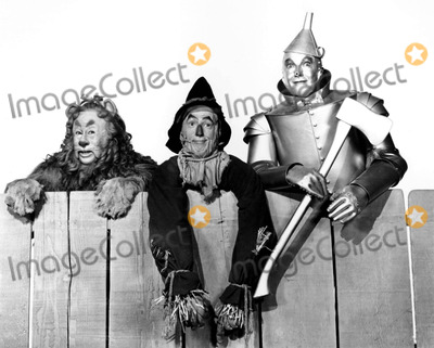 Jack Haley Photo - Bert Lahr Ray Bolger and Jack Haley in the Wizard of Oz Supplied by Globe Photos Inc Tvfilm Stills