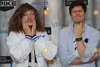 Anders Holm Photo - Spike Tvs 2011 Scream Awards Universal Studios Backlot Hollywood CA 10152011 the Workaholics - Blake Anderson and Anders Holms Photo Clinton H Wallace-photomundo-Globe Photos Inc