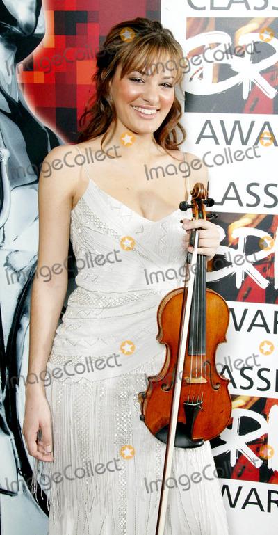 Nicola Benedetti Photo - Nicola Benedetti Classical Brits Awards 2005 - Royal Albert Hall London Uk 5-25-2005 Photo Byjohn Marshall-globelinkuk-Globe Photos Inc 2005