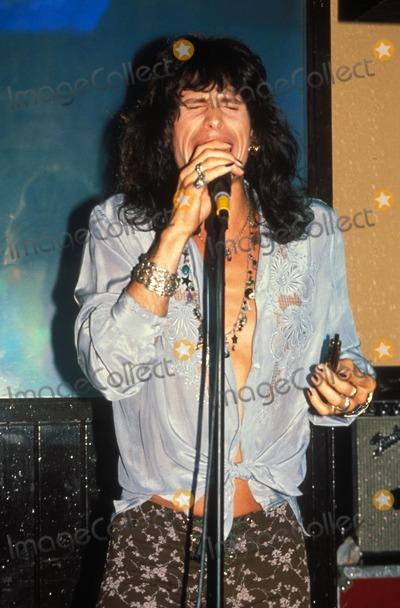 Aerosmith Photo - Steven Tyler of Aerosmith Photo by John BarrettGlobe Photos Inc