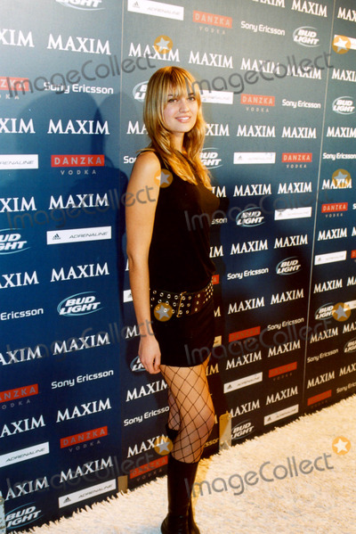 Amber Arbucci Photo - Maxim Sno Magazine Party Hosted by January Cover Girl Michelle Branch in New York City 12102003 Photo Byken RummentsGlobe Photos Inc 2003 Amber Arbucci