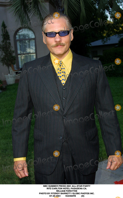 RITZ CARLTON Photo - NBC Summer Press 2001 All-star Party Ritz Carlton Hotel Pasadena CA William Forsythe Photo by Fitzroy Barrett  Globe Photos Inc 7-20-2001 K22494fb (D)