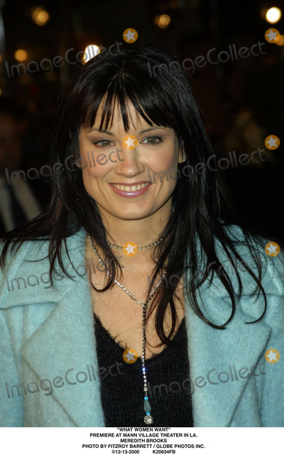 Meredith Brooks Photo - What Women Want Premiere at Mann Village Theater in LA Meredith Brooks Photo by Fitzroy Barrett  Globe Photos Inc 12-13-2000