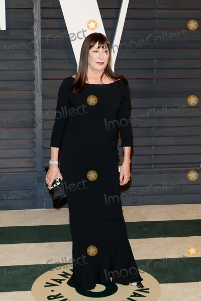 Anjelica Huston Photo - Actress Anjelica Huston attends the Vanity Fair Oscar Party at Wallis Annenberg Center For the Performing Arts in Beverly Hills Los Angeles USA on 22 February 2015 Photo Alec Michael