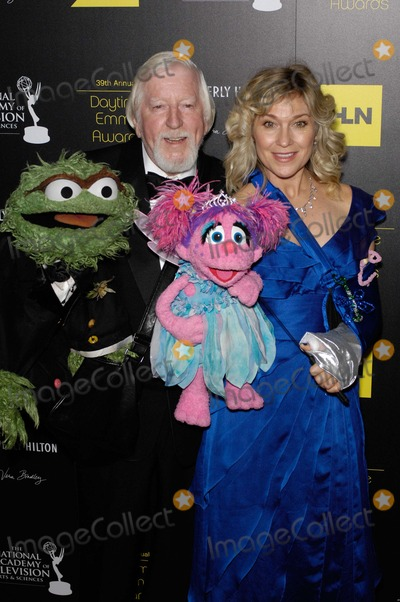 Caroll Spinney Photo - Oscar the Grouch Caroll Spinney Leslie Carrara and Abby Cadabby During the 39th Annual Daytime Emmy Awards Held at the Beverly Hilton Hotel on June 23 2012 in Beverly Hills California Photo Michael Germana  Superstar Images - Globe Photos