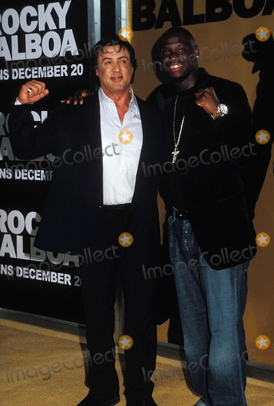 Antonio Tarver Photo - World Premiere of Rocky Balboagraumans Chinese Theaterhollywood CA 12-13-2006 Photo by Phil Roach-ipol-Globe Photos Inc 2006 I11469pr Sylvester Stallone and Antonio Tarver